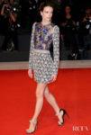 Stacy Martin In  Giambattista Valli Haute Couture - 'Gloria Mundi' Venice Film Festival Premiere