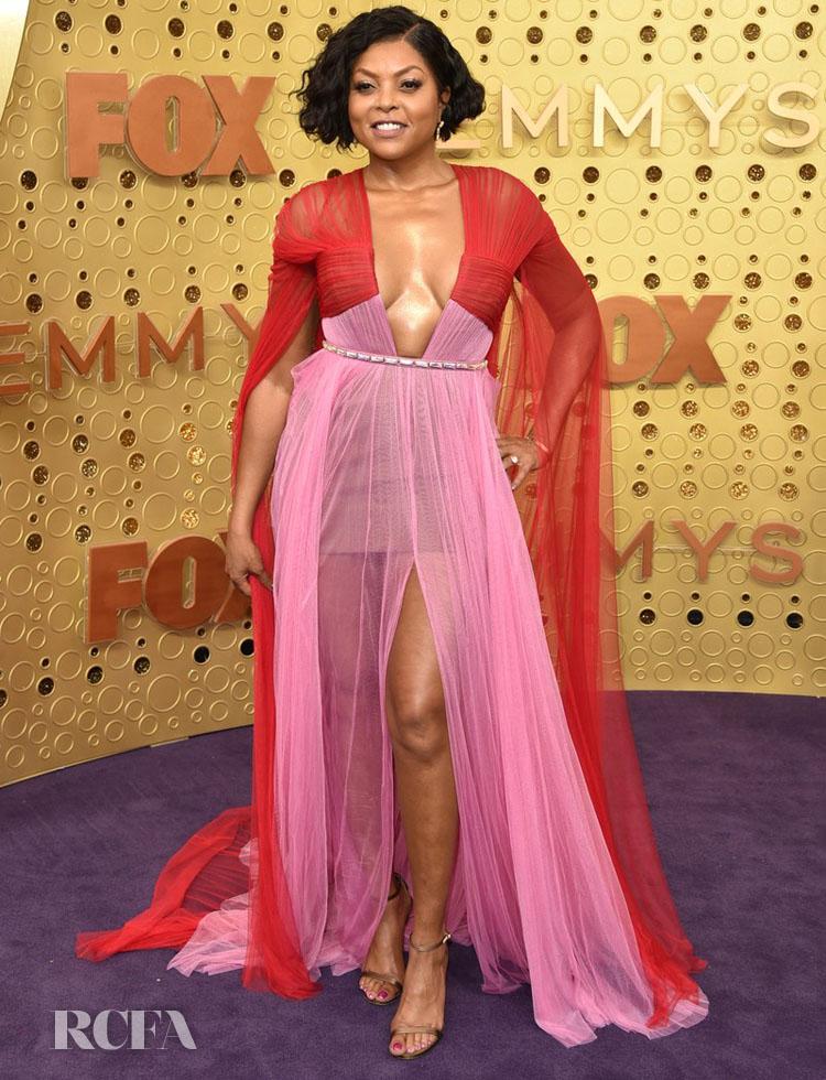 Taraji P. Henson In Vera Wang - 2019 Emmy Awards