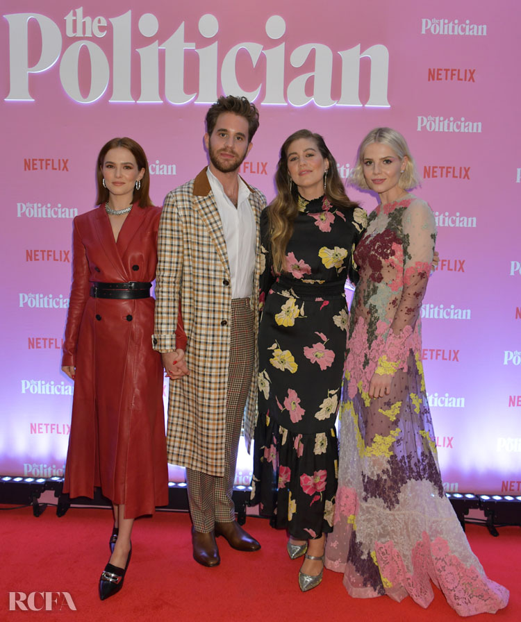The Politician Netflix London Screening Red Carpet
