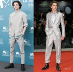 Timothée Chalamet In Haider Ackermann - 'The King' Venice Film Festival Photocall & Premiere
