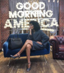 Tracee Ellis Ross' Pinstripe Party For Good Morning America