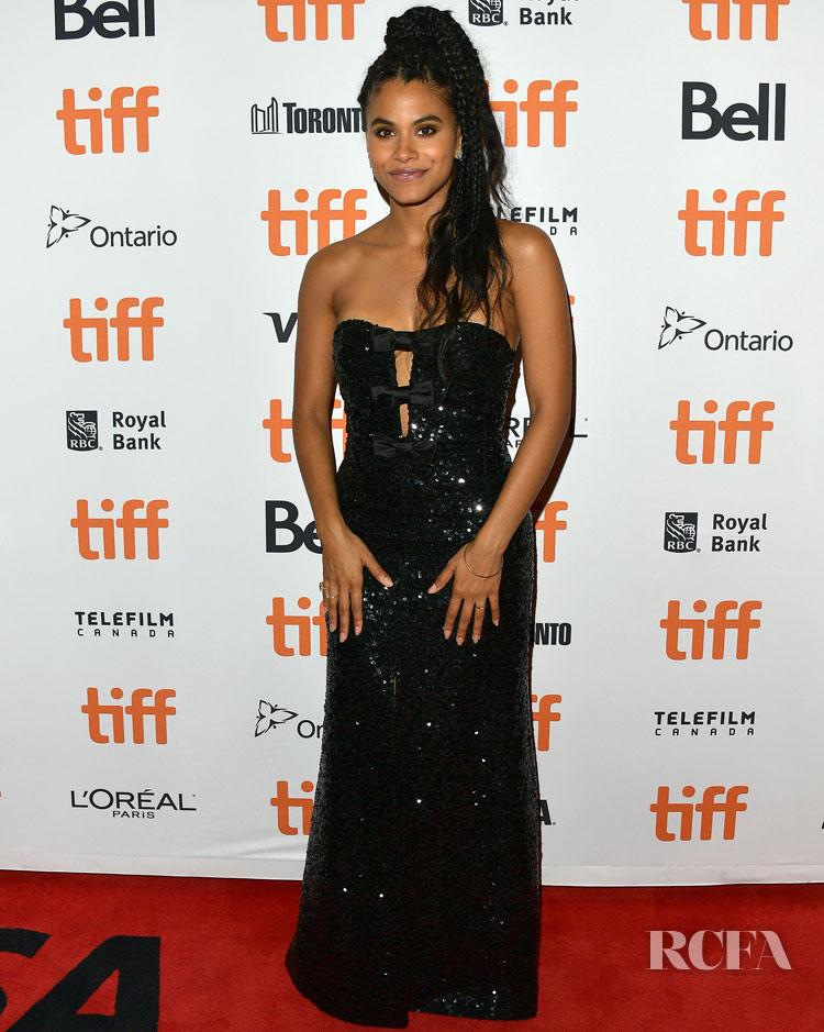 Zazie Beetz In Miu Miu - 'Lucy In The Sky' Toronto Film Festival Premiere
