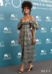 Zazie Beetz In Rosie Assoulin - 'Joker' Venice Film Festival Photocall