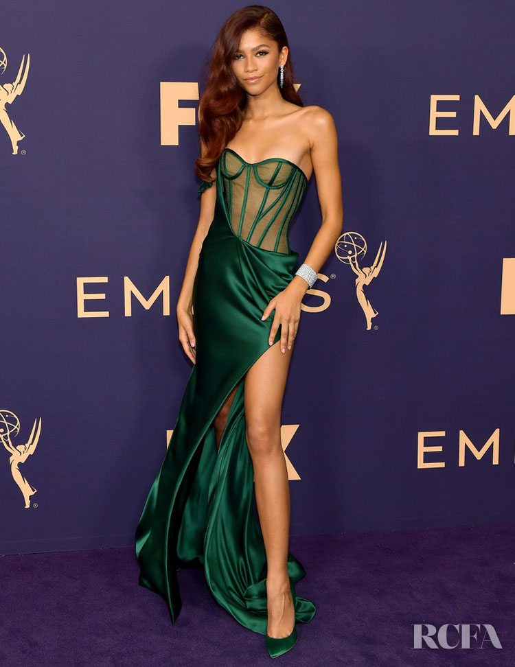 Zendaya Coleman In Vera Wang - 2019 Emmy Awards