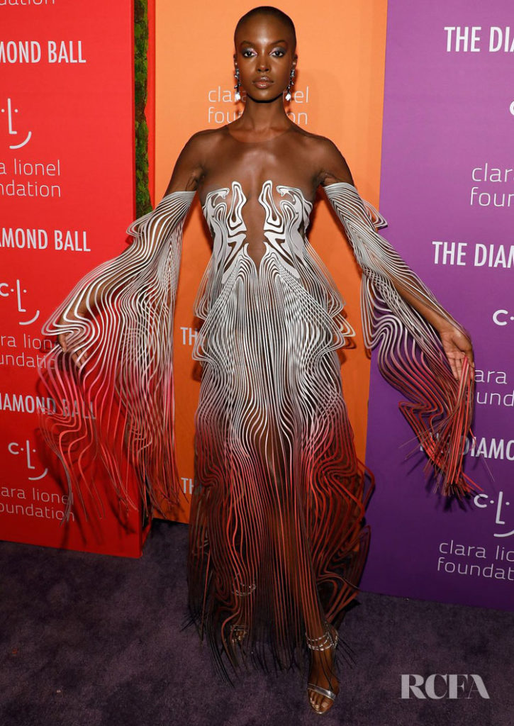 Madisin Rian in  Iris van Herpen Fall 2019 Haute Couture - 2019 Diamond Ball