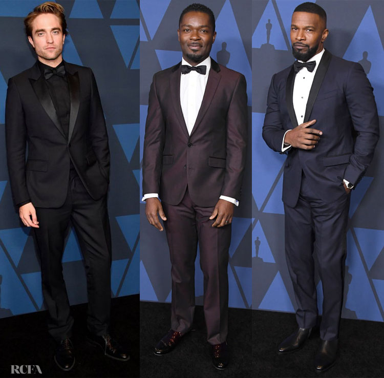 2019 Governors Awards Menswear Red Carpet Roundup