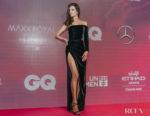 Alessandra Ambrosio Picks Up The Fashion Icon Award At The GQ Middle East Men of the Year Awards