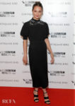 Alicia Vikander's LV LBD For The 'Earthquake Bird' London Film Festival World Premiere