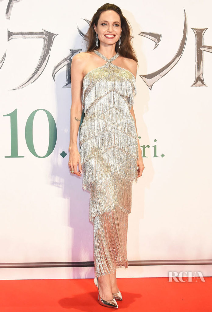 Angelina Jolie Channels The Party Season Early In Ralph