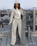 Cardi B's Take On Tweed For Chanel's Spring 2020 Paris Fashion Week Show