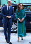 Catherine, Duchess of Cambridge Wears ARoss Girl x Soler To The Aga Khan Center