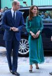 Catherine, Duchess of Cambridge Wears ARoss Girl x Soler To The Aga Khan Center