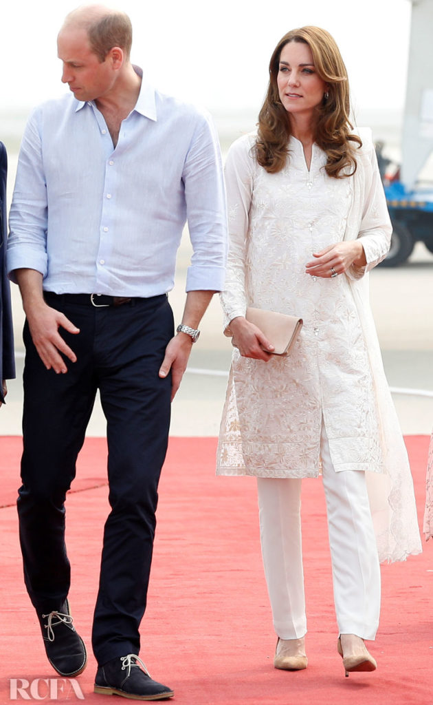 Catherine, Duchess of Cambridge Visits Lahore