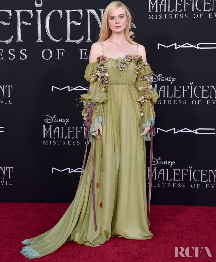 Elle Fanning Was Enchanting In Gucci For The Maleficent