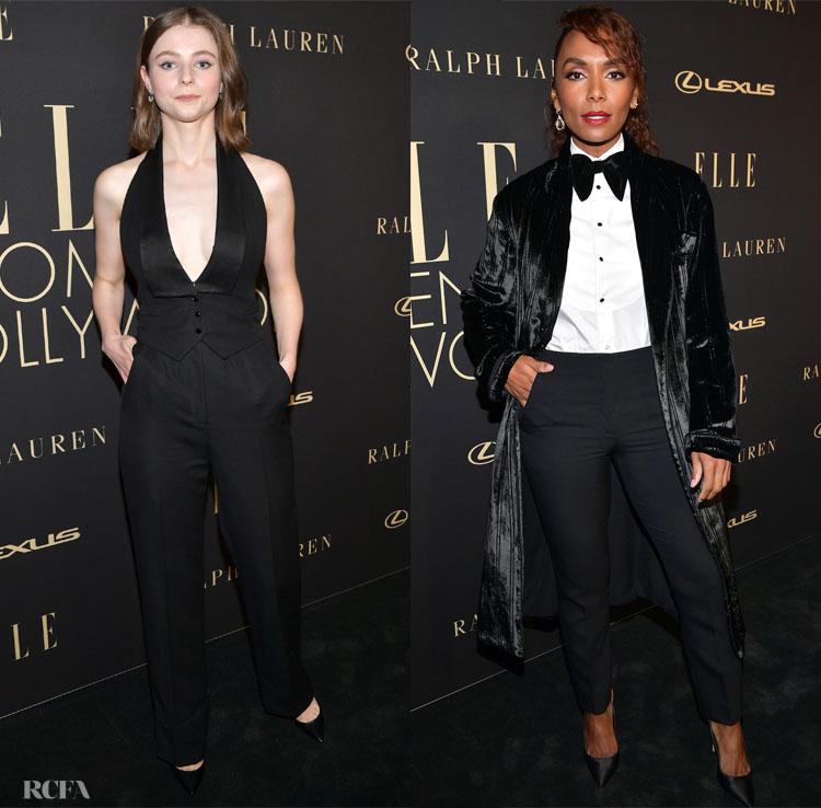 2019 Elle Women In Hollywood: Tuxedo Edition
