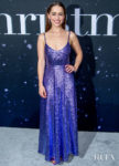 Emilia Clark Was Brilliant In Blue Valentino For The 'Last Christmas' New York Premiere