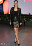 Selena Gomez In Leather Versace For Netflix's 'Living Undocumented' LA Screening
