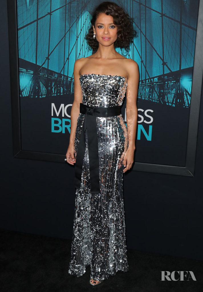 Gugu Mbatha-Raw Shines In Dolce & Gabbana For The 'Motherless Brooklyn' LA Preniere