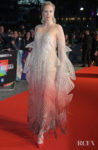 Gwendoline Christie Opens The London Film Festival With 'The Personal History Of David Copperfield' Premiere In Another Epic Iris van Herpen Haute Couture Look