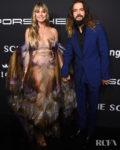 Heidi Klum Wore Iris van Herpen Haute Couture To The 2019 Angel Ball