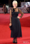 Helen Mirren's Dotty LBD For 'The Good Liar' World Premiere