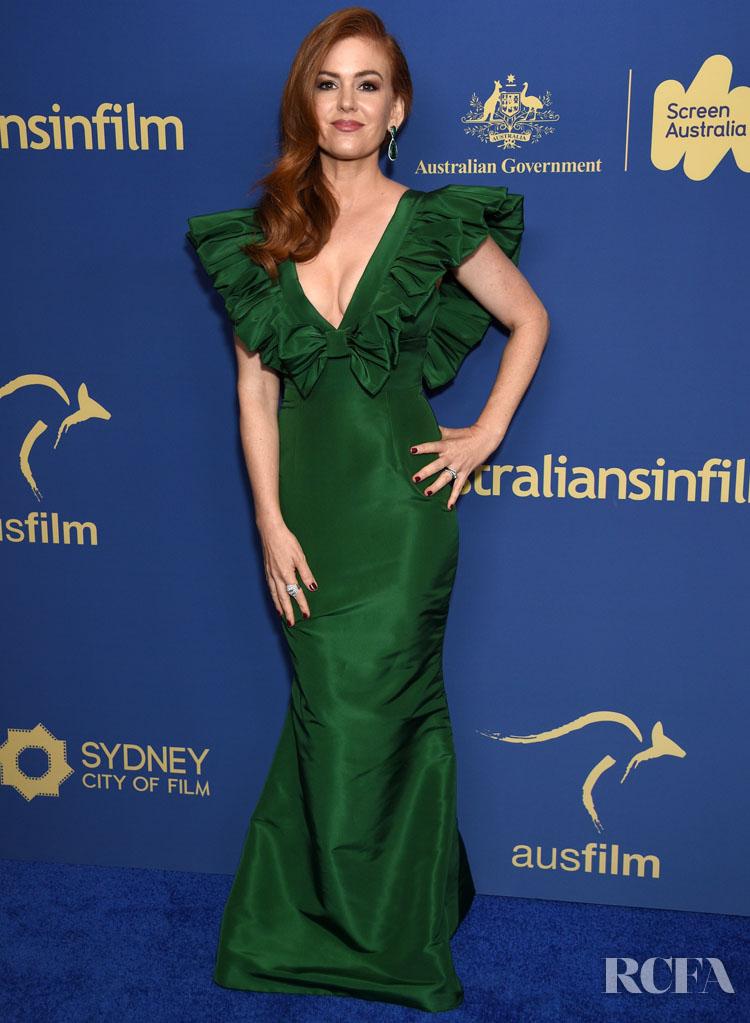 Isla Fisher 2019 Australians In Film Awards