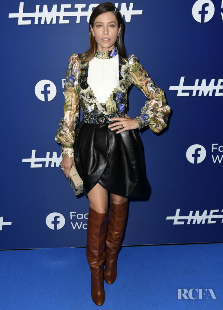 Jessica Biel's Love Affair With Louis Vuitton Continues At The Photocall For 'Limetown'