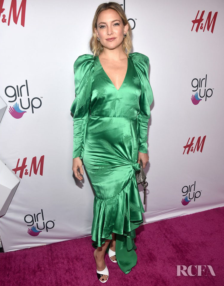 Kate Hudson Wears Hellessy  To The 2nd Annual Girl Up #GirlHero Awards