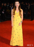 Katherine Langford Brings Some Sunshine To The London Film Festival Premiere of 'Knives Out'