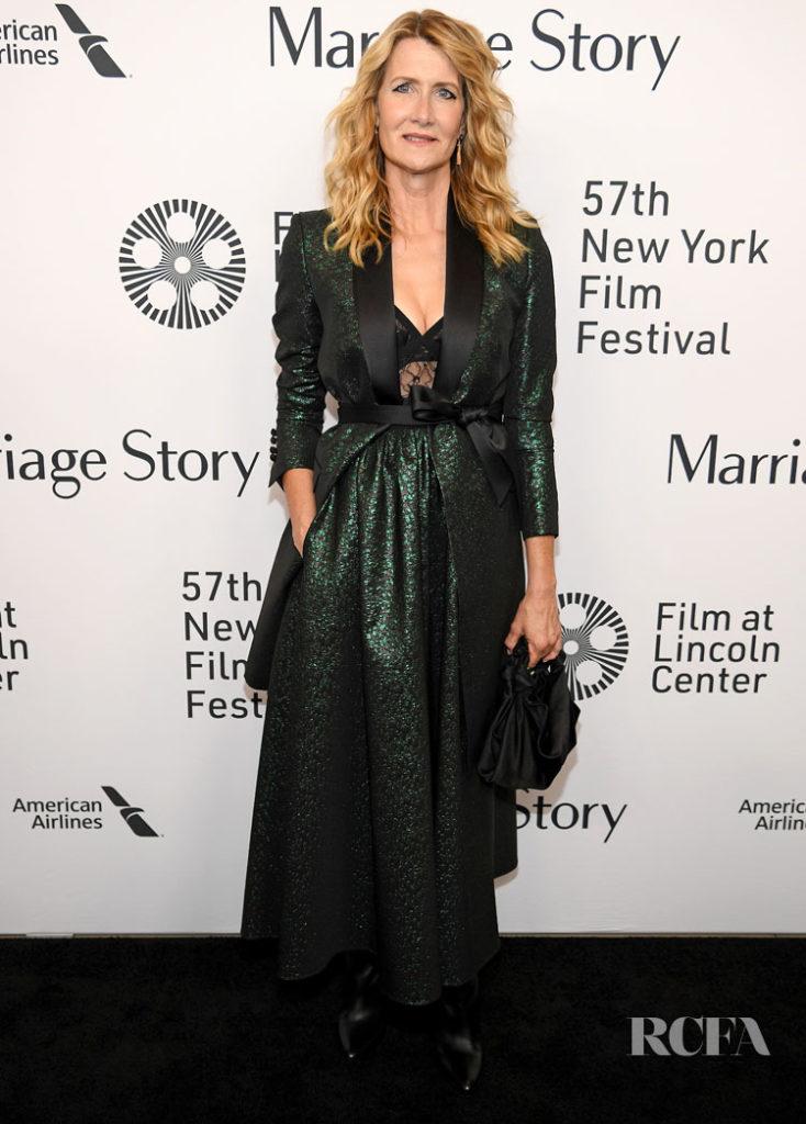 Laura Dern Elie Saab Marriage Story New York Premiere