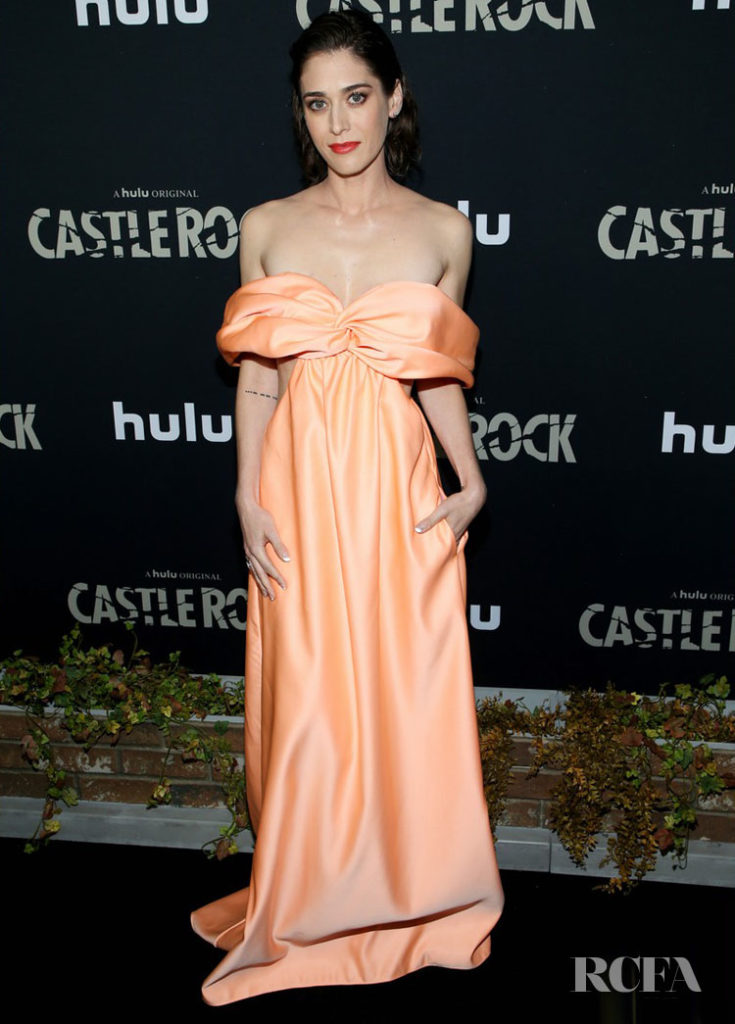 Lizzy Caplan Was Looking Peachy At The Castle Rock Season 2