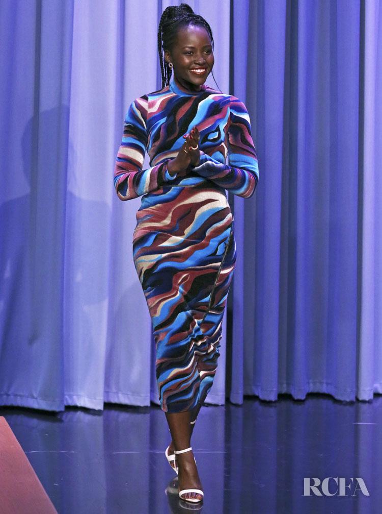 Lupita Nyong O Makes A Colourful Return In Roberto Cavalli