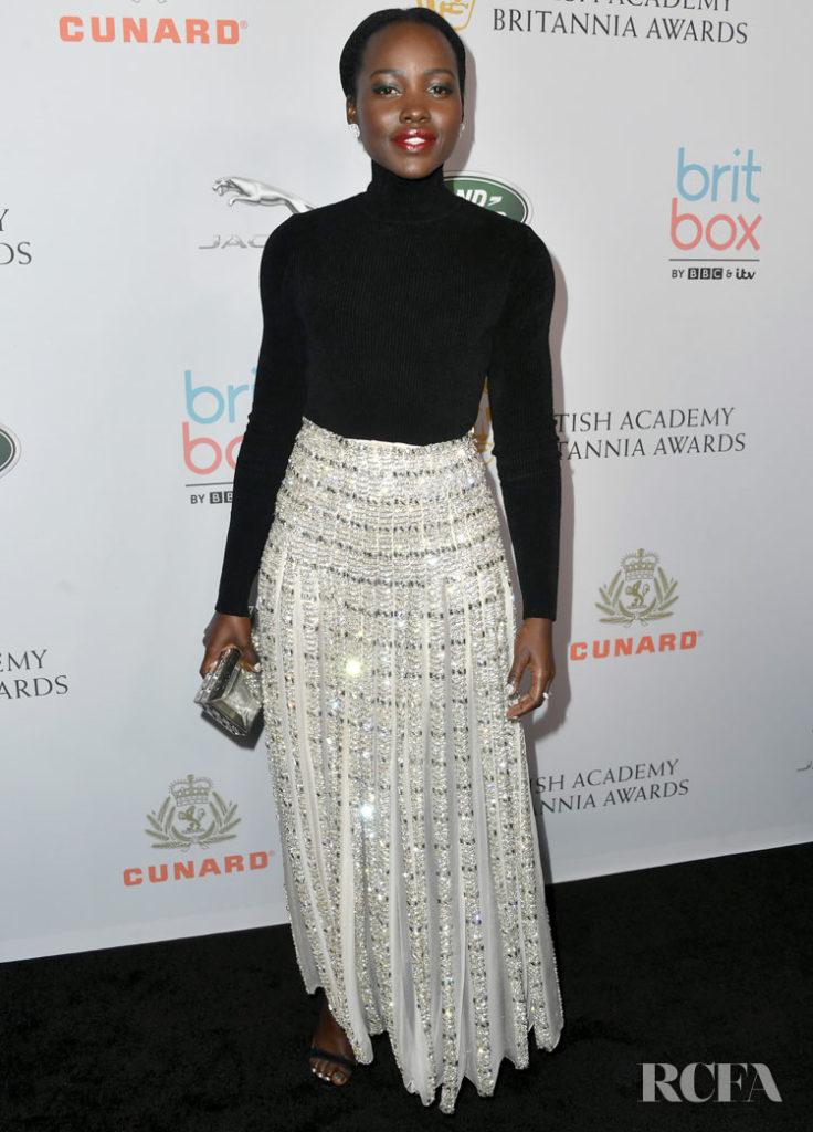 Lupita Nyong'o In Alexandre Vauthier Haute Couture - 2019 British Academy Britannia Awards
