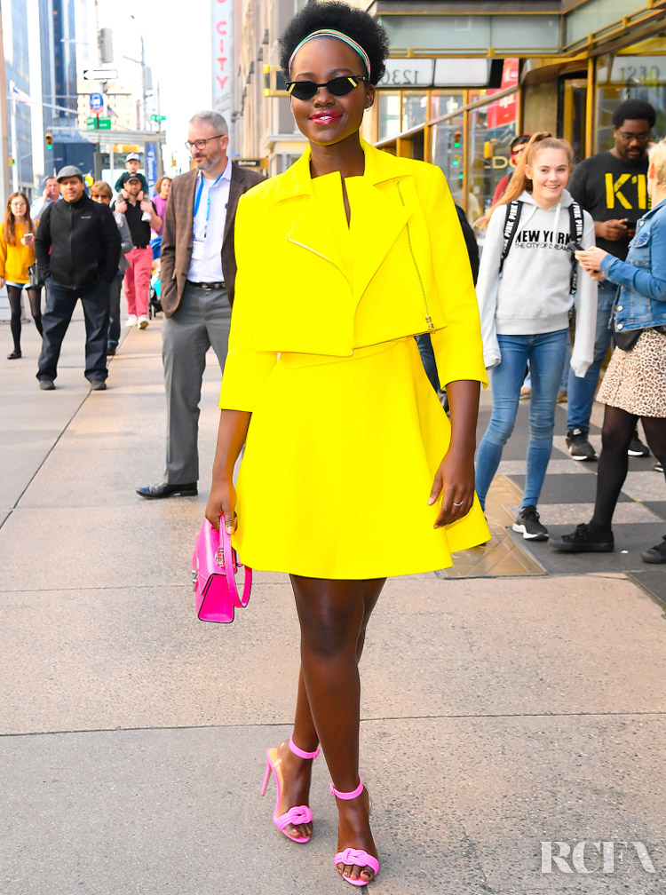 Lupita Nyong'o In Toccin Spring 2020 - Live with Kelly & Ryan