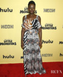 Lupita Nyong'o Wears Erki Orleans To The 'Little Monsters' New York Premiere