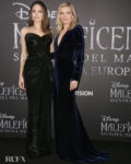 Angelina Jolie & Michelle Pfeiffer For The 'Maleficent: Mistress Of Evil' Rome Premiere