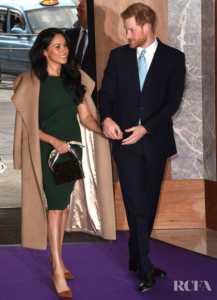 Meghan, Duchess of Sussex Joined In Royal Green Day For The WellChild Awards