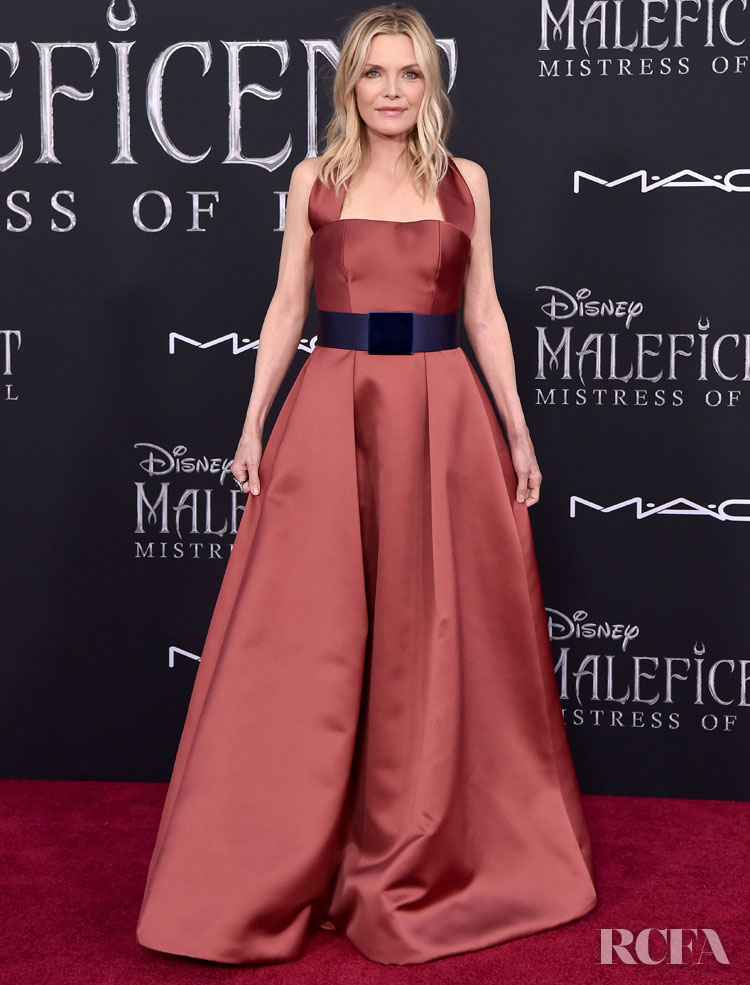 Michelle Pfeiffer Wears Armani For The Maleficent Mistress