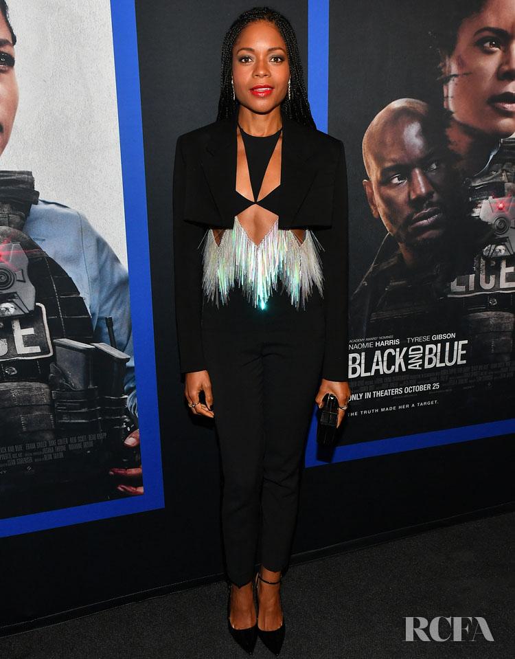 Naomie Harris In David Koma - 'Black & Blue' Atlanta Screening