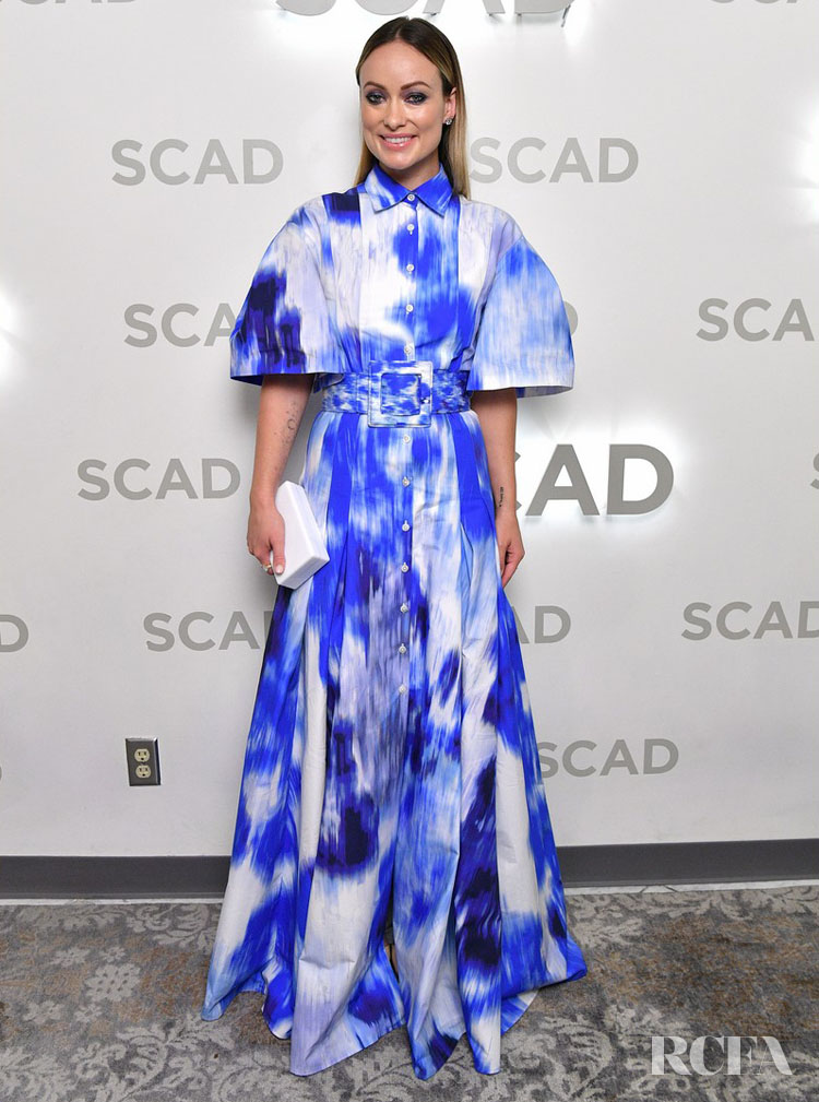 Olivia Wilde Wore Carolina Herrera To The SCAD Savannah Film Festival