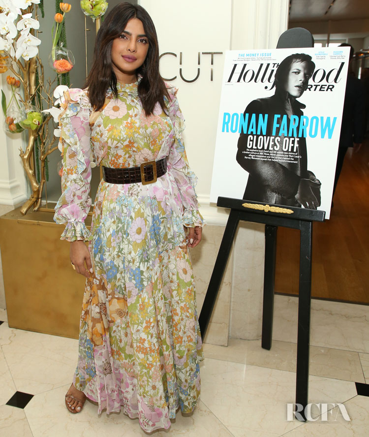 Priyanka Chopra Continues To Hold Onto Summer At The THR Power Business Managers Breakfast