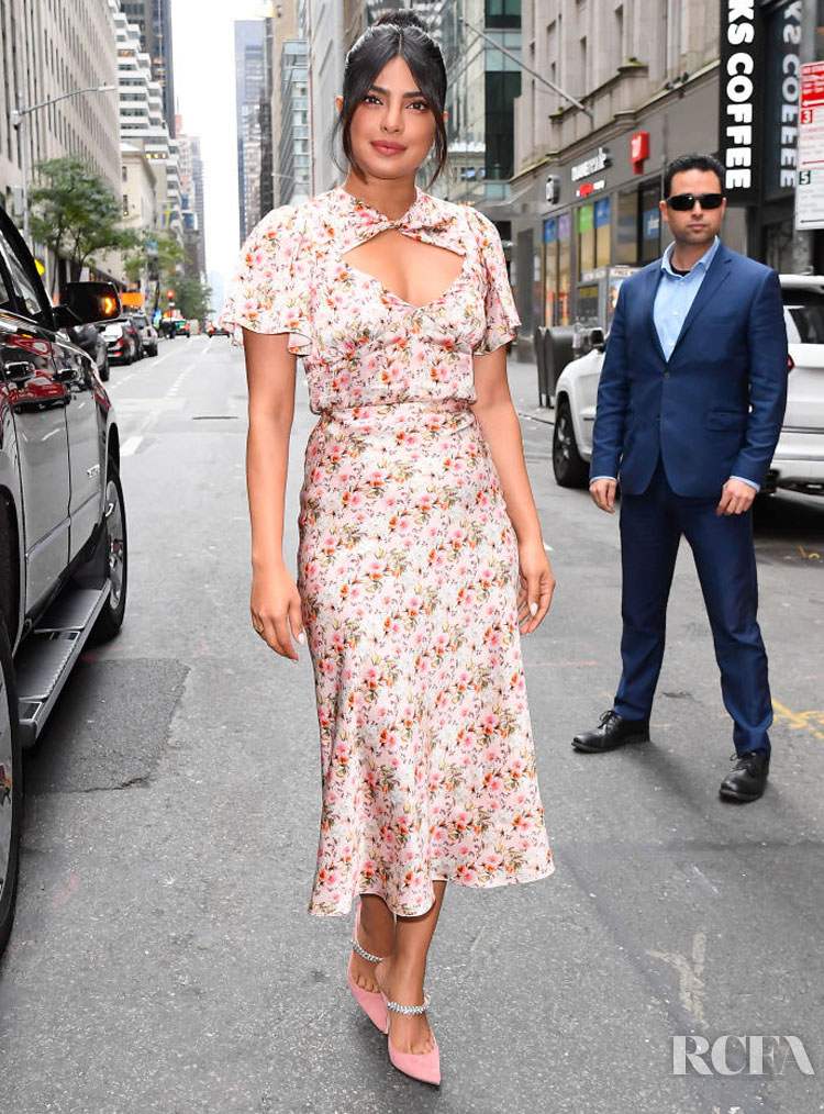 Priyanka Chopra Still Has A Spring In Her Step For The Today Show