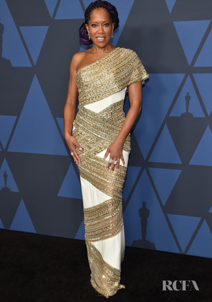Regina King In Ralph & Russo Couture - 2019 Governors Awards