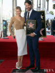 Renée Zellweger Supports Harry Connick Jr. At His Hollywood Walk of Fame Ceremony