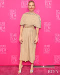 Sienna Miller's Pleated Plissé  For SCAD Savannah Film Festival