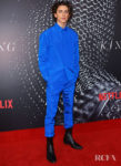 Timothée Chalamet's Monochromatic Blue Moment For 'The King'  Sydney Premiere