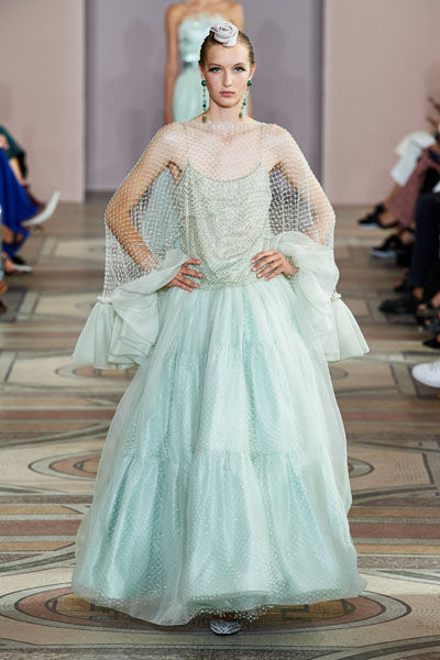 Elle Fanning Wore A Disney Fairytale Armani Prive Gown For