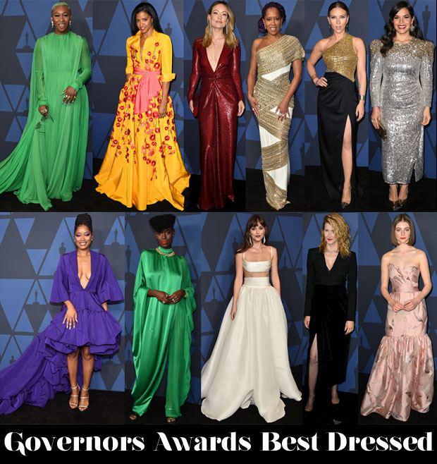 Who Was Your Best Dressed At The 2019 Governors Awards