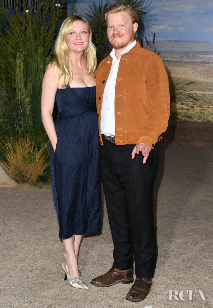 Kirsten Dunst in Brock Collection Premiere Of Netflix's 'El Camino: A Breaking Bad Movie'