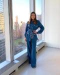 Jessica Biel's Fendi Contrast Stitch Combo For The 'Gram